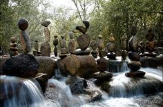 There is just something so uselessly beautiful about rock balancing.