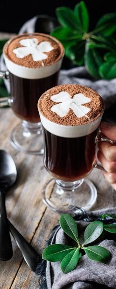 Irish Eyes Are Smiling, Calendar Girls, Coffee Time, Latte, Holiday, Desserts, Ireland, Food, St Patricks Day