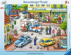 Einsatz in der Stadt Puzzles;Kinderpuzzle Ravensburger