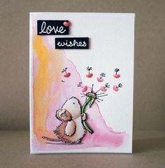 3D paper piecing valentine card with Chameleon Pens | Chameleon Pens #tutorial