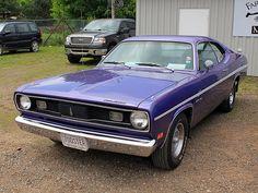 purple Duster