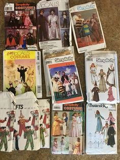 costume patterns sewing  | eBay