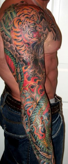 Image detail for -Top 15 Sleeve Tattoo Ideas for Men | sexy tattoos girl