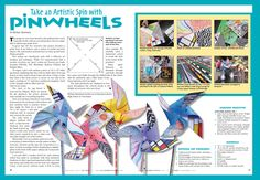 great for pinwheels for peace day!