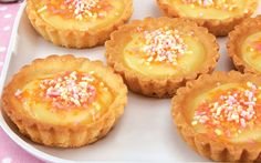 Golden Cloud Mini Custard Tarts