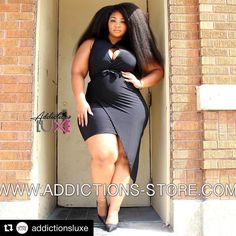 #Repost  @addictionsluxe with @repostapp ・・・ Introducing:  Matoka $39 Sizes Xl - 3x  Model @_kamora_ wearing a 2x  Stylist @drdannie_ceo  Photo @kellianthony  Www.addictions-store.com   #exclusive   #dontsnooze   #plussizefashion   #addictionsluxe   #shopfashionableaddictions   #newarrivals
