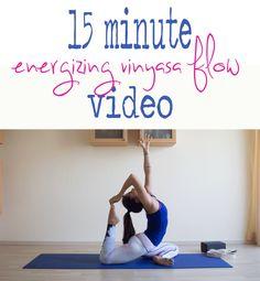 Fifteen Minute Yoga VIdeo