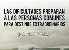 #dificultades #extraordinarios