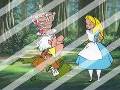 Alice in Wonderland Edible Cake Topper Frosting 1/4 Sheet Image #30