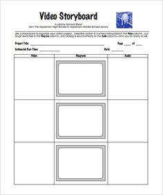 Digital Storyboard Template   Free Word Excel Pdf Ppt Format