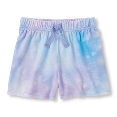 Baby Girls Starry Sky Pj Shorts - Multi - The Children's Place