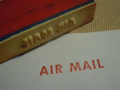 Airmail stamp 34