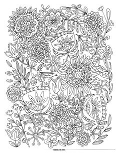9 Free Printable Adult Coloring Pages | Pat Catan\'s Blog | Colouring ...