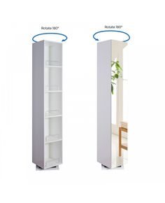 The Hillfar Storage Unit features a 180° rotatable base with mirror door and fixed shelving. This elegant floor mounted design provides ample storage capacity for all your bathroom bits and pieces. Supplied with 10 year guarantee for your complete peace of mind.