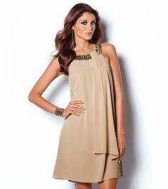14 best Vestidos fiesta dia images on Pinterest   Low cut dresses ... d3a5eaf75572