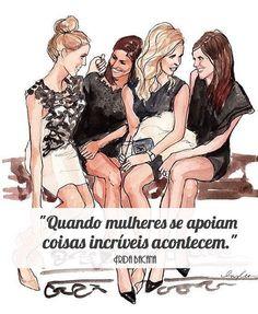 #regram @frida_bacana Um brinde a você que faz parte desse time! #frases #amizade #mulheres #união #feminismo #fridabacana