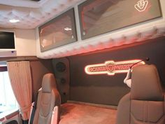 Truck Interior, Peterbilt, Semi Trucks, Cars And Motorcycles, Old School, Pasta, Neon Signs, Decor, Cabins