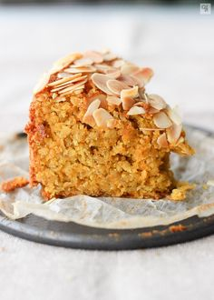 Bizcocho de zanahoria, avena y almendra - Ytreats - Baby Food Recipes, Sweet Recipes, Cake Recipes, Dessert Recipes, Cooking Recipes, Healthy Baking, Healthy Desserts, Delicious Desserts, Yummy Food