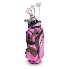 Adams Golf...so cute in brown & pink (& so sweet to swing!)