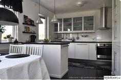 weiß, schwarz, ikea, Applaus, Küche