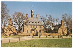 The Governor's Palace, Williamsburg Virginia