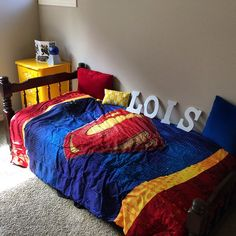 1000 Images About Lois S Superman Room On Pinterest