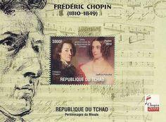 Frédéric Chopin (1810-1849), République du Tchad