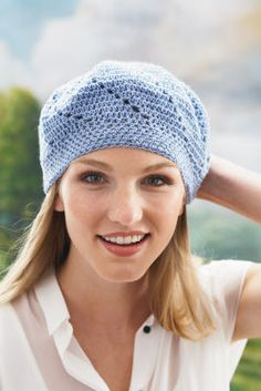 Loops & Threads® Payette™ Crochet Beret