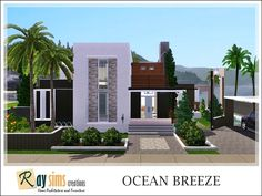Ocean Breeze house by Ray_Sims - Sims 3 Downloads CC Caboodle