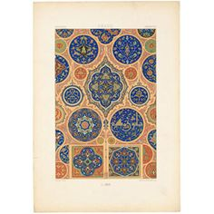 Albert Charles Auguste Racinet: L'Ornement Polychrome, Deuxieme Séries, 1885-1887