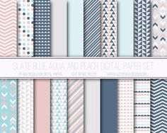 Just Peachy Designs: Introducing our new Etsy digital paper shop!
