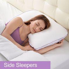 BioSense 2™ Memory Foam Shoulder Pillow for Side Sleepers