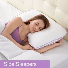 BioSense 2™ Memory Foam Shoulder Pillow for Side Sleepers