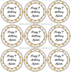 How to make Pretty labels using Microsoft Word #DIY #Printables #Labels #Microsoftword #Party #Dots Soap Making, Card Making, Microsoft Word, Crafty Craft, Things To Know, Diy Gifts, Helpful Hints, Free Printables, Craft Projects