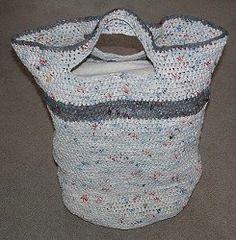 Plarn Laundry Basket