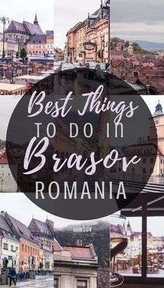 Best things to do in Brasov, Romania: a quick guide on what to see and where to go in this Transylvanian city! #culturetravel