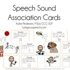 Speech Sound Association Cards for providing visual, auditory, and kinesthetic cues during articulation therapy by Let's Grow Speech.