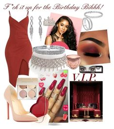 """""""Birthday Bihhh"""" by court4life ❤ liked on Polyvore featuring Christian Louboutin, Bling Jewelry, Forever 21, Too Faced Cosmetics, Blue Nile, Monica Vinader and Huda Beauty being unfaithful limited offer,no taxes and free shipping.#shoes #womenstyle #heels #womenheels #womenshoes  #fashionheels #redheels #louboutin #louboutinheels #christanlouboutinshoes #louboutinworld"""
