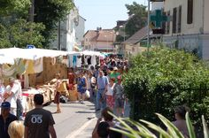Divonne-les-Bains French market on Sundays
