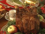 Great recipe for standing rib roast by Paula Deen