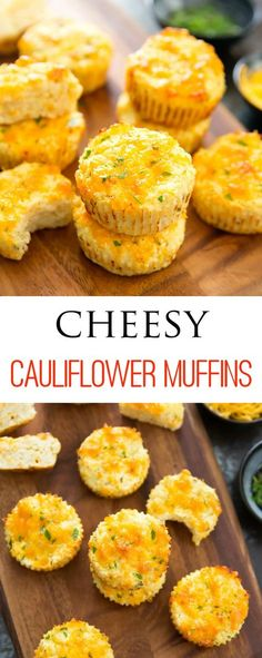 No carb diets 388787380326752069 - Cheesy Cauliflower Muffins. Low carb, gluten free and easy. No need to dry out the cauliflower! No Carb Recipes, Baby Food Recipes, Cooking Recipes, Healthy Recipes, Healthy Food, Soup Recipes, Protein Recipes, Casserole Recipes, Recipies