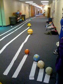 I chose this because this is fun hands on activity the students can do to learn how far the planets are way from each other!