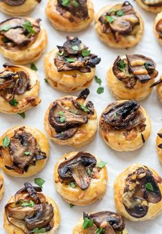 These cute little mushroom morsels were made to be munched on.  Get the recipe at Well Plated.    - CountryLiving.com