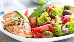 Ernährungs mit Fisch und Fleisch zum Abnehmen