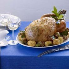 Add a citrus zing to your Christmas turkey this year with this easy to make stuffing recipe, from BBC Good Food magazine. Easy Stuffing Recipe, Stuffing Recipes, Turkey Recipes, Christmas Turkey, Christmas Eve, Cocktail Sticks, Roasting Tins, Best Shakes, Marmite