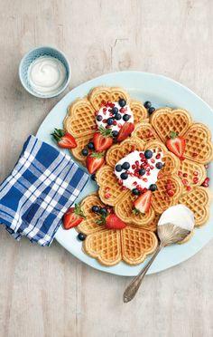 pretty waffles