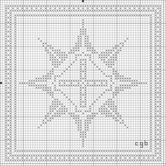 Free Star One Cross Stitch Pattern: Free Star One Cross Stitch Pattern