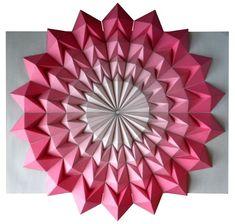 El Hurgador [Arte en la Red]: Kota Hiratsuka [Mosaicos de Origami]