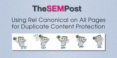 Using Rel Canonical on All Pages for Duplicate Content Protection  #SEO