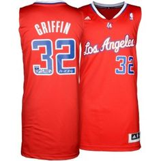 759909c89e0 Blake Griffin Los Angeles Clippers Autographed adidas Swingman Red Jersey  with 11 ROY Inscription - Panini Authentic from ManCaveGiant.com